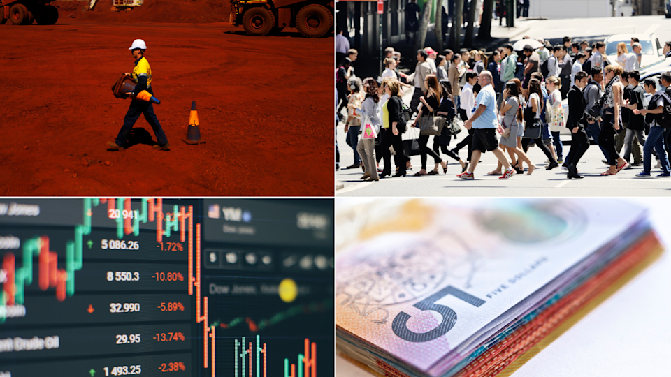 How Australia's iron ore price crash will affect the economy. Source: Getty/Reuters