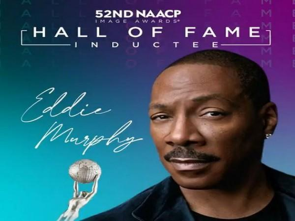 Eddie Murphy honoured with the Hall of Fame Award (Image courtesy: NAACP Imaga Awards Twitter)