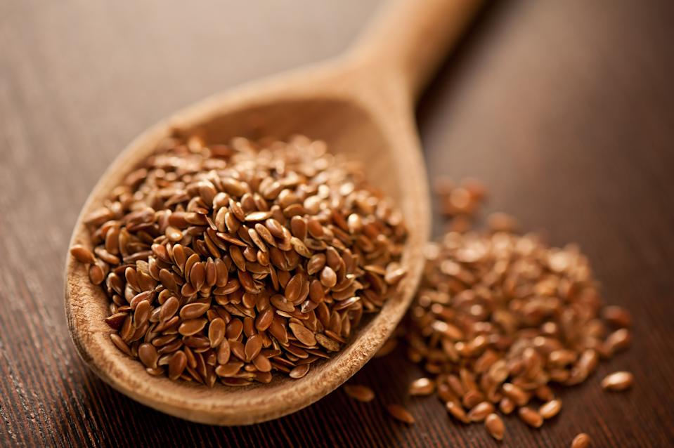 <strong>Flaxseeds:</strong> Being a source of omega-3 fatty acids, fibre and phytoestrogens, flaxseeds boost the heart health, if taken in ground or milled form.