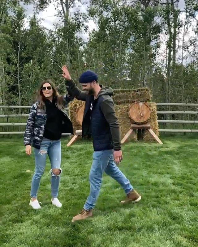 """<p>As she and husband Justin Timerlake showed off their ax-throwing skills, Biel wrote, """"Let's take today to spend with family SAFELY (for real, wear a mask pls) and remember that while July 4th represents freedom, we still have a lot of work to do in this country for real progress.""""</p><p><a href=""""https://www.instagram.com/p/CCOdCglhIO9/"""" rel=""""nofollow noopener"""" target=""""_blank"""" data-ylk=""""slk:See the original post on Instagram"""" class=""""link rapid-noclick-resp"""">See the original post on Instagram</a></p>"""