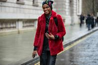<p>Channel that high-low street style aesthetic when you juxtapose a luxurious-feeling coat with a pared-down beanie.</p>