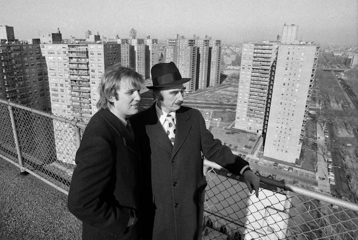 Father and son, surveying a part of their real estate empire. (Photo: Barton Silverman/The New York Times via Redux)