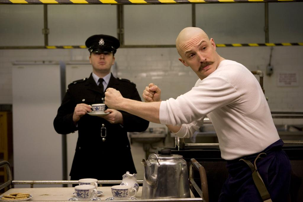 """<a href=""""http://movies.yahoo.com/movie/contributor/1808445009"""">Tom Hardy</a> in Magnet Releasing's <a href=""""http://movies.yahoo.com/movie/1810047388/info"""">Bronson</a> - 2009"""