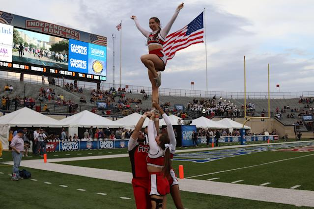 In the next bowl cycle, the Independence Bowl will reportedly feature an ACC vs. Pac-12 matchup. (Photo by John Bunch/Icon Sportswire via Getty Images).