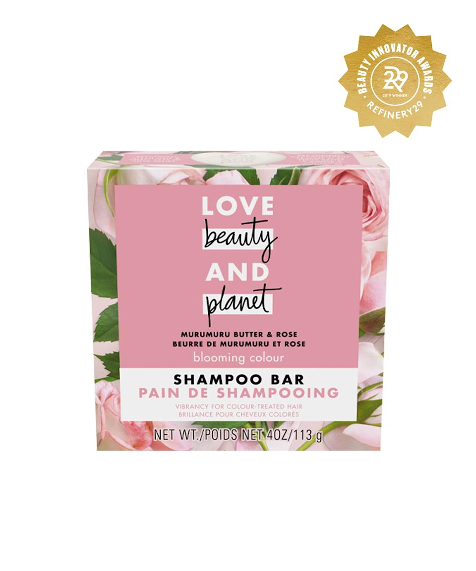 """<h2>Love Beauty And Planet Murumuru Butter & Rose Shampoo Bar<br></h2> <br>You'll be doing your hair (and the environment) a huge favor when you pick up this shampoo bar, which has murumuru butter, coconut oil, and rose to nourish and hydrate your strands. <br><br><strong>Love Beauty and Planet</strong> Love Beauty and Planet Muru Muru Shampoo Bar, $, available at <a href=""""https://www.target.com/p/love-beauty-and-planet-muru-muru-shampoo-bar-4oz/-/A-76307054"""" rel=""""nofollow noopener"""" target=""""_blank"""" data-ylk=""""slk:Target"""" class=""""link rapid-noclick-resp"""">Target</a><br>"""