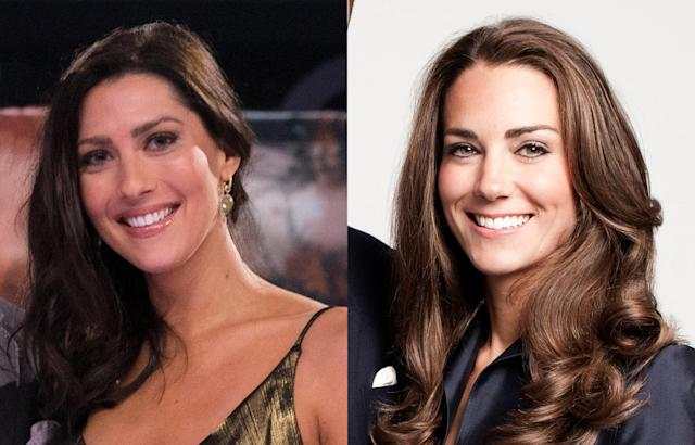 Becca Kufrin (L) and Kate Middleton (Photo: Getty Images)