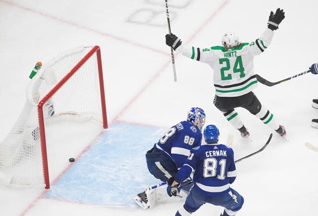 Dallas beats Tampa Bay 4-1 to take opening game of Stanley Cup final