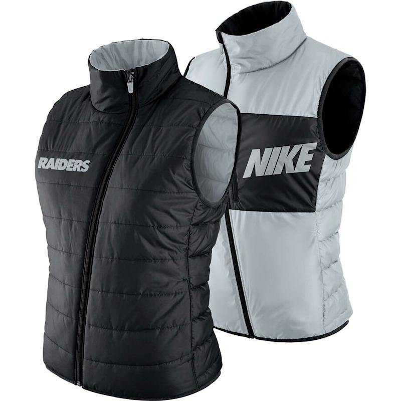 Raiders women's Nike vest