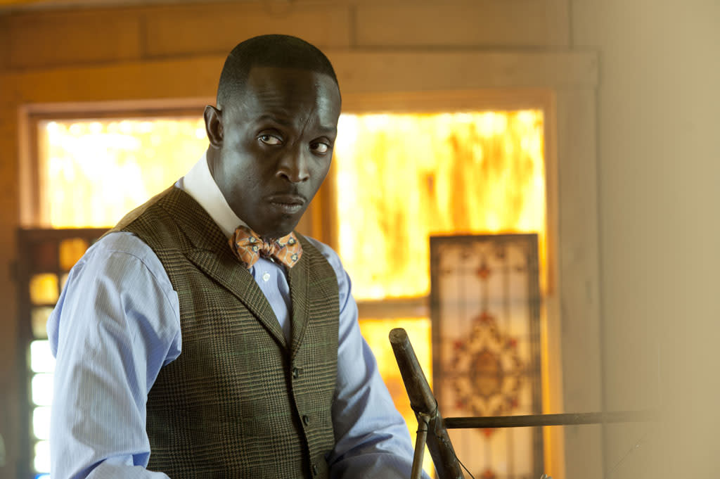 "Michael Kenneth Williams stars as Chalky White in Season 3 of ""Boardwalk Empire"" on HBO."