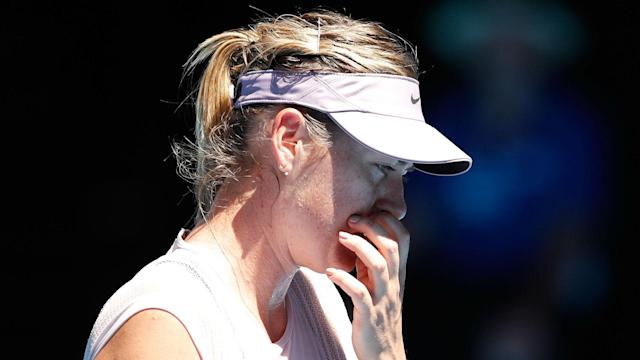 Two-time Qatar Open champion Maria Sharapova was disappointed with her display as she lost to Monica Niculescu in round one.