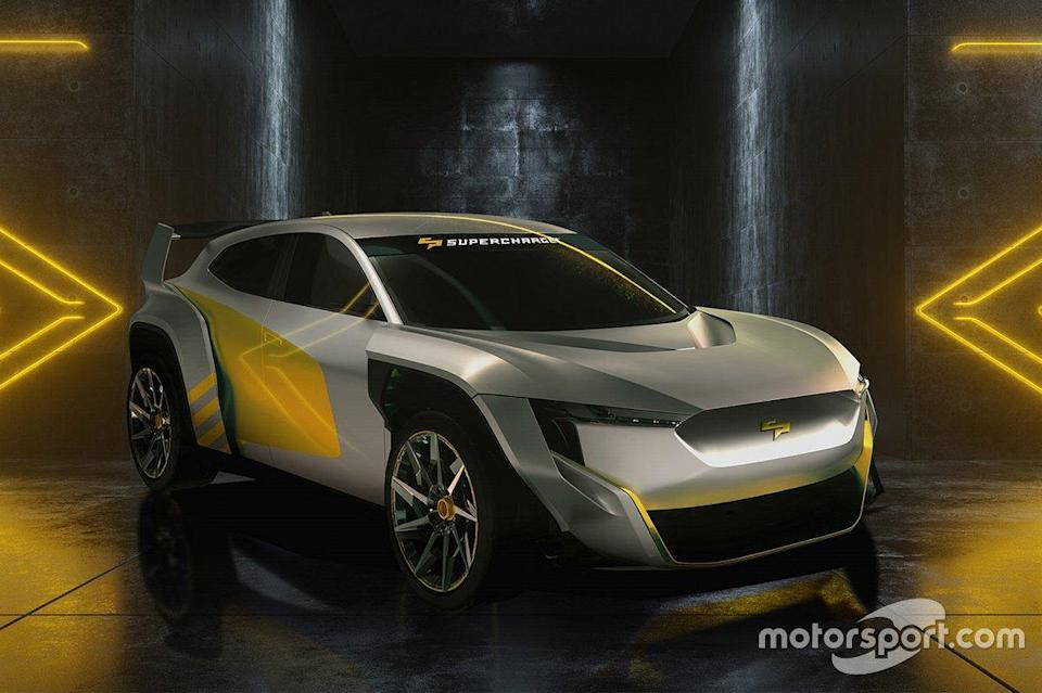 """SuperCharge car<span class=""""copyright"""">SuperCharge </span>"""
