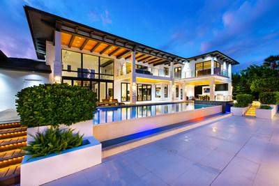 Platinum Luxury Auctions will offer this modern, waterfront estate in Hollywood, FL at a luxury auction® on Monday, Nov 25th. Recently asking $5.4 million, the property will now be sold to the highest auction bidder without reserve and regardless of price. The estate is located on a deep-water canal with 150 ft of frontage and access to the Atlantic Ocean. More at WaterfrontLuxuryAuction.com.