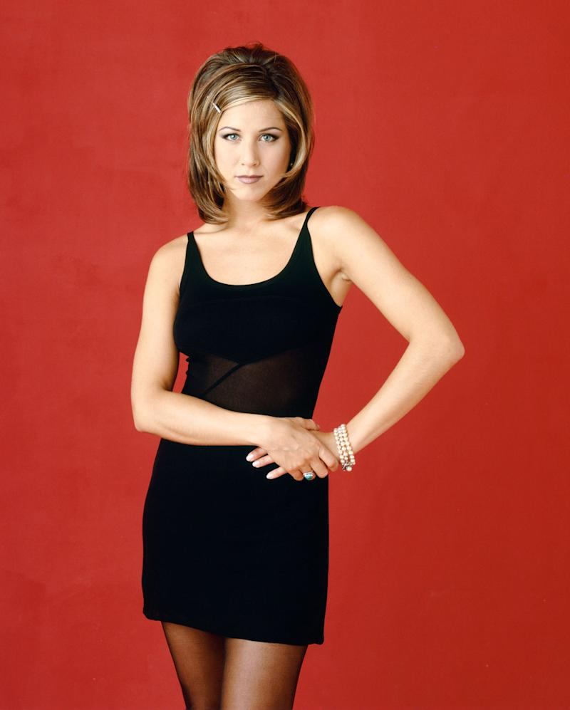 Michael Canale The Rachel hair colour cut Friends Jennifer Aniston Rachel Green