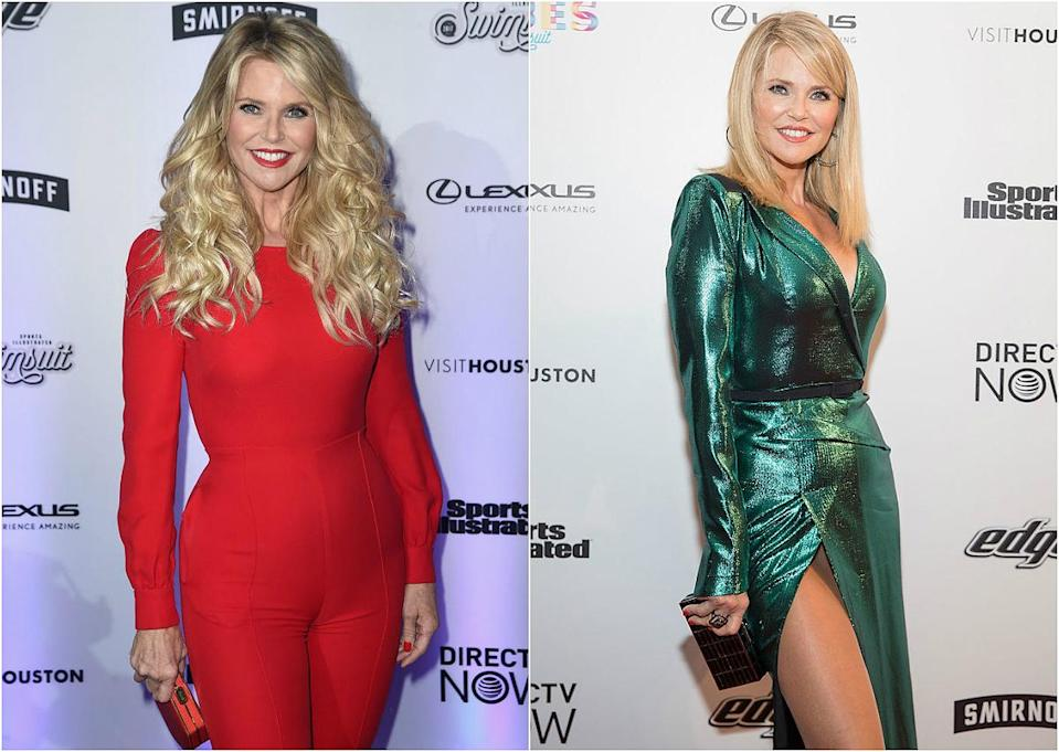 <p><b>When: February 2017 </b><br>Christie Brinkley is 63-years-old and just as stunning as when she first entered the modelling scene back in the 1970s! At the VIBES by Sports Illustrated Swimsuit 2017 launch party, the model ditched her flowing, wavy goddess locks in favour of a super straight, shoulder-length bob with side-swept bangs—proving she can look just as hot with a short 'do! What do you think? <i> (Photos: Getty/February 2017) </i> </p>