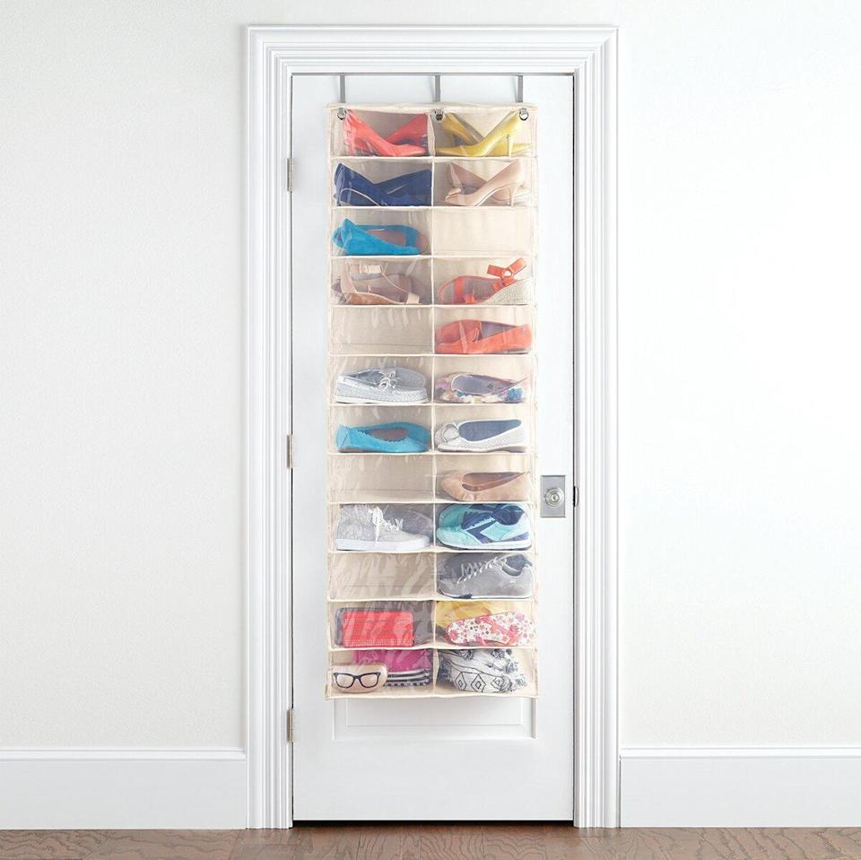 The Container Store 24-Pocket Over-the-Door Shoe Organizer
