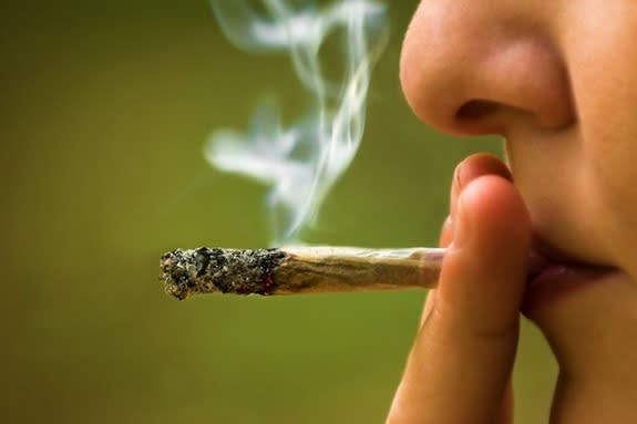 58 percent of Americans favor legalizing marijuana, according to a Gallup poll conducted in October 2013.
