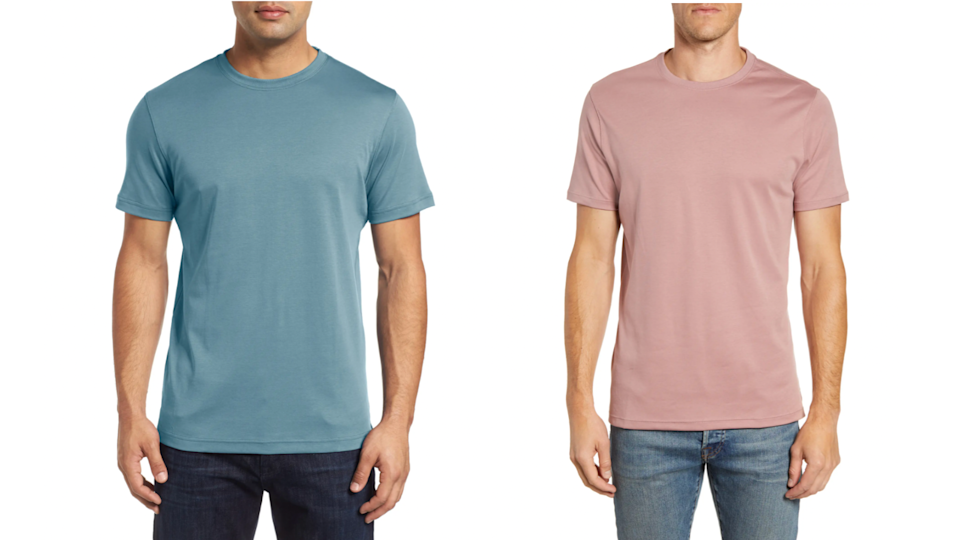 This best-selling T-shirt is loose and comfortable.