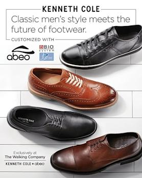 f089c2b5e ABEO Biomechanical Footwear and Kenneth Cole Partner to Create New  Collection With Customized Comfort Technology