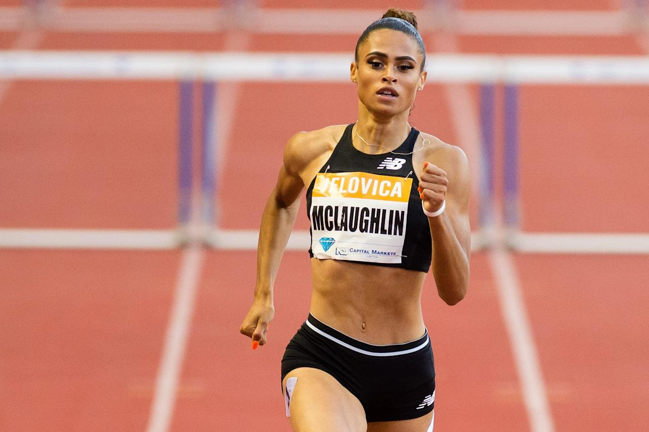 "<p>The world of women's 400m hurdles was dominated this year by two Americans: Dalilah Muhammad and <a href=""https://www.popsugar.com/fitness/Sydney-McLaughlin-Favorite-Ab-Moves-46323278"" class=""ga-track"" data-ga-category=""Related"" data-ga-label=""https://www.popsugar.com/fitness/Sydney-McLaughlin-Favorite-Ab-Moves-46323278"" data-ga-action=""In-Line Links"">Sydney McLaughlin</a>. At the 2019 World Championships, both athletes were <a href=""https://www.youtube.com/watch?v=ZAz0GS_4QTY"" target=""_blank"" class=""ga-track"" data-ga-category=""Related"" data-ga-label=""https://www.youtube.com/watch?v=ZAz0GS_4QTY"" data-ga-action=""In-Line Links"">so far ahead of the field</a>, they were practically running another race. Dalilah won the world title and <a href=""https://www.popsugar.com/fitness/Dalilah-Muhammad-400m-Hurdles-World-Record-Video-46431215"" class=""ga-track"" data-ga-category=""Related"" data-ga-label=""https://www.popsugar.com/fitness/Dalilah-Muhammad-400m-Hurdles-World-Record-Video-46431215"" data-ga-action=""In-Line Links"">broke the 400m world record</a> twice; she's had her breakout year. Now it's Sydney's turn: she finished second at the world championships with a personal best time, the third fastest in history, but was clearly hungry for more. She'll get her chance at the Olympics next year, which promises to be another showdown between these two up-and-coming track stars.</p>"