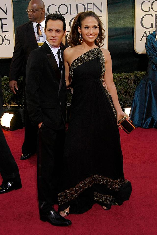 <p>Jennifer Lopez and Marc Anthony were still an item back then. And Lopez must have access to her own fountain of youth. (Photo: Getty Images) </p>