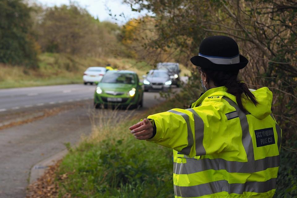 The Ceredigion Roads Policing Unit had set up a checkpoint (Police)