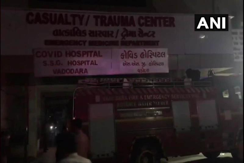 Fire Breaks out in Covid-19 Ward of Hospital in Vadodara, Patients Shifted out