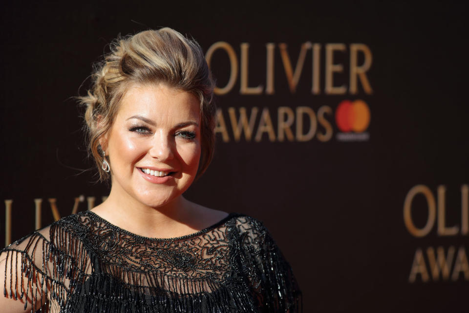 Sheridan Smith attends The Olivier Awards 2017 at Royal Albert Hall on April 9, 2017 in London, England.  (Photo by Mike Marsland/Mike Marsland/WireImage)