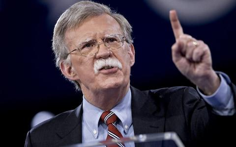John Bolton has brought a hawkish bent to White House foreign policy - Credit: Blooberg
