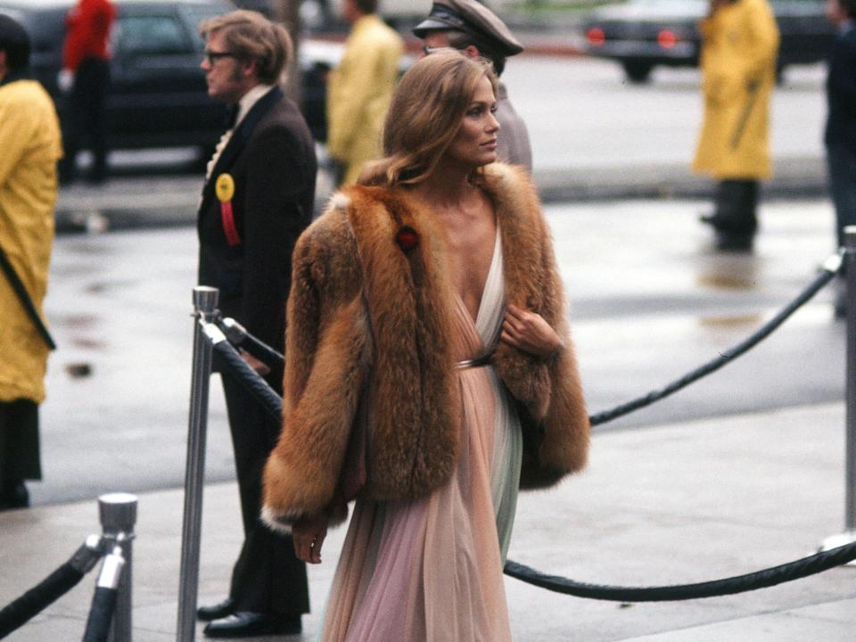 lauren hutton 1975 oscars