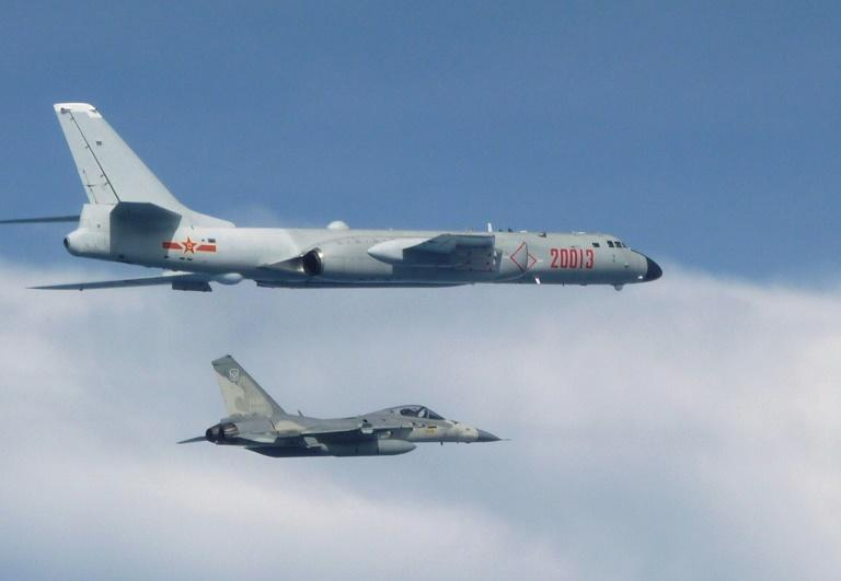 Recent incursions into Taiwan's southwest air defence identification zone (ADIZ) have included Chinese H-6 bombers (AFP/Handout)