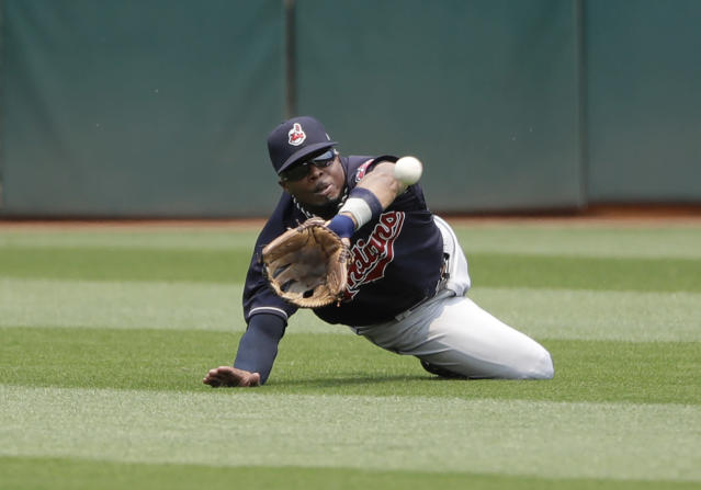 "<a class=""link rapid-noclick-resp"" href=""/mlb/players/7835/"" data-ylk=""slk:Rajai Davis"">Rajai Davis</a> might be a fantasy catch this summer (AP Photo/Marcio Jose Sanchez)"