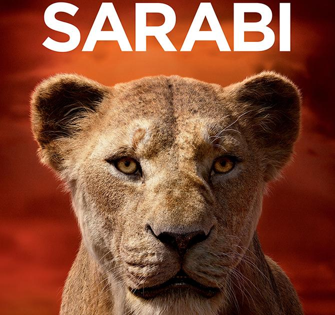 Cartel de Sarabi (© 2019 Disney Enterprises, Inc. All Rights Reserved.)