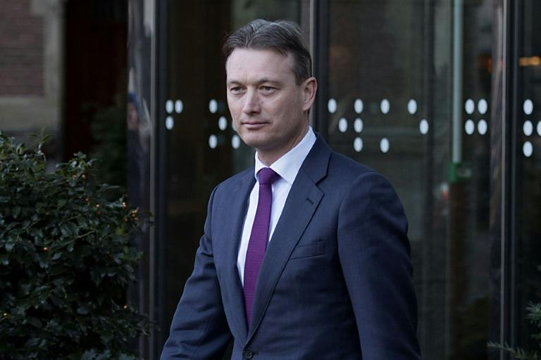 Halbe Zijlstra leaves the Dutch parliament after he announcing his resignation as foreign minister
