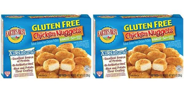 Earths Best Baked Gluten Free Chicken Nuggets
