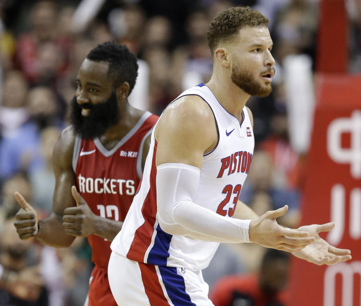 James Harden Latest News: Harden's 43 Points Leads Rockets Over Pistons 126-124