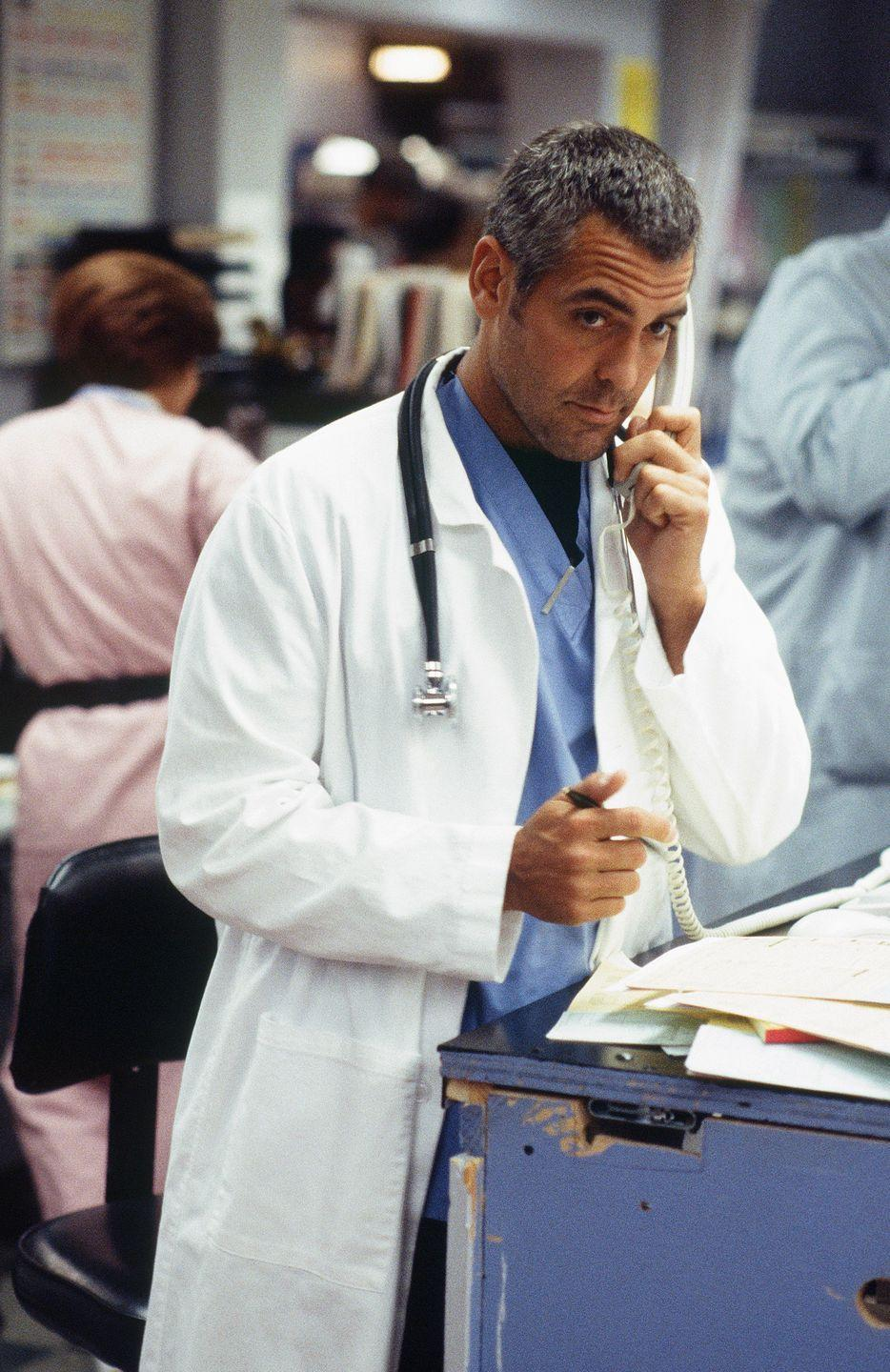 <p>The Oscar winner is one of the most well-known actors in Hollywood, but before his film success he started out on the medical drama. You might remember him as Dr. Doug Ross, who he played from 1994 to 1999.</p>