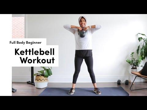 """<p><strong>Targe</strong><strong>ts: Full body </strong><strong></strong><br></p><p>The FitNest, aka trainer Zehra, has a speedy kettlebell workout that's perfect for those who are fairly new to kettlebell or <a href=""""https://www.womenshealthmag.com/uk/fitness/strength-training/a706202/strength-training-for-beginners/"""" target=""""_blank"""">strength training</a>. Coaching you through basic movements like swings, pulls and squats, this is a great, simple, easy to follow workout to gain confidence and strength. </p><p><a href=""""https://www.youtube.com/watch?v=-Rm7cNOsW90&ab_channel=TheFitNest"""">See the original post on Youtube</a></p>"""