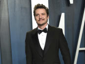 "FILE - Pedro Pascal arrives at the Vanity Fair Oscar Party on Feb. 9, 2020, in Beverly Hills, Calif. Pascal is having a big December, with the second season of the wildly popular Star Wars spinoff ""The Mandalorian"" having just concluded on Disney Plus and a major role as the villain in ""Wonder Woman 1984,"" which debuts in theaters and on HBO Max on Christmas Day. (Photo by Evan Agostini/Invision/AP, File)"