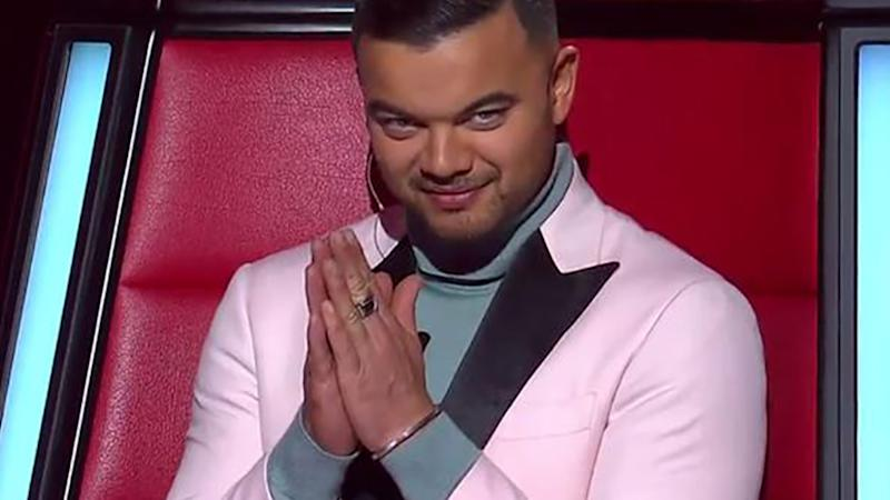 Guy Sebastian on The Voice