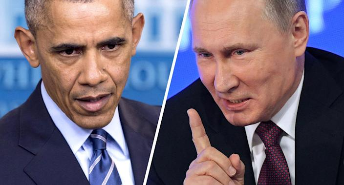 President Barack Obama and Vladimir Putin. (Photos: Saul Loeb, Natalia Kolesnikova/AFP/Getty Images)