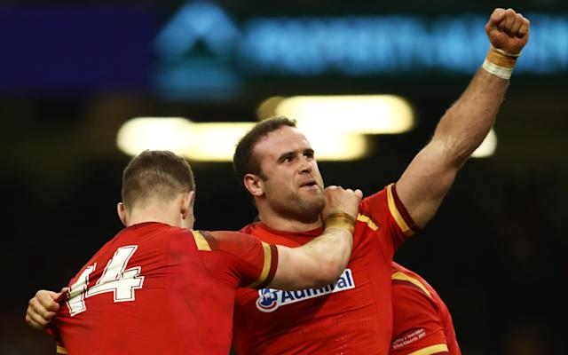 <span>Wales centre Jamie Roberts is expected to be a surprise inclusion</span> <span>Credit: GETTY IMAGES </span>