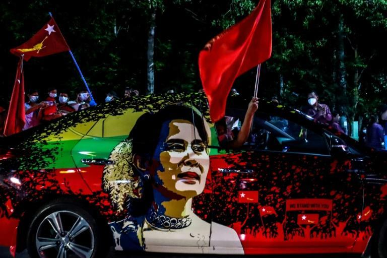 "Suu Kyi remains immensely popular in Myanmar and is referred to affectionately as ""Mother Suu"" by supporters"