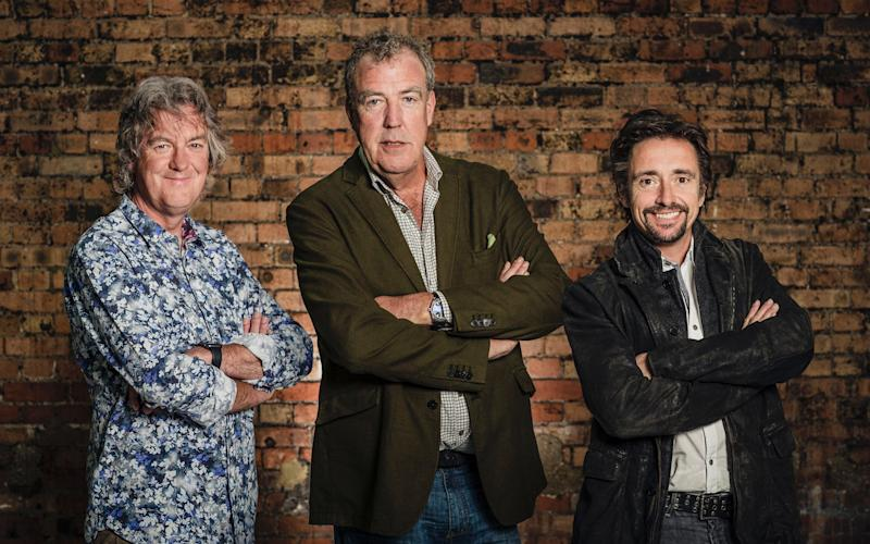 The Grand Tour, hosted by James May, Jeremy Clarkson and Richard Hammond, is available to stream through Amazon - Amazon Prime Video/Amazon Prime Video