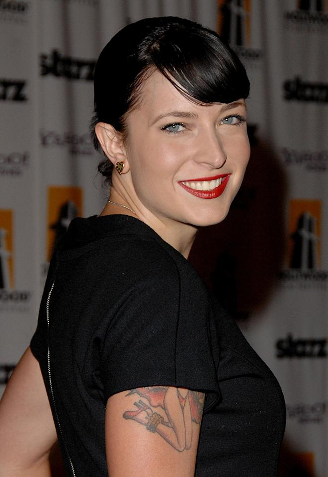 "<a href=""http://movies.yahoo.com/movie/contributor/1809215786"">Diablo Cody</a> at the 12th Annual Hollywood Film Festival Awards Gala in Beverly Hills - 10/27/2008"