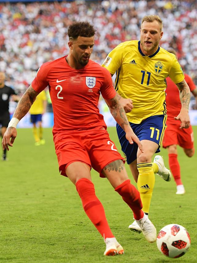 <p>It's Kyle Walker – but I'm sure you knew that! </p>