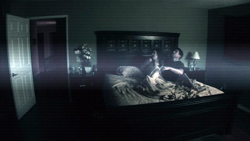 Katie Featherston and Micah Sloat deal with some 'Paranormal Activity' (Photo: Paramount Pictures/courtesy Everett Collection)