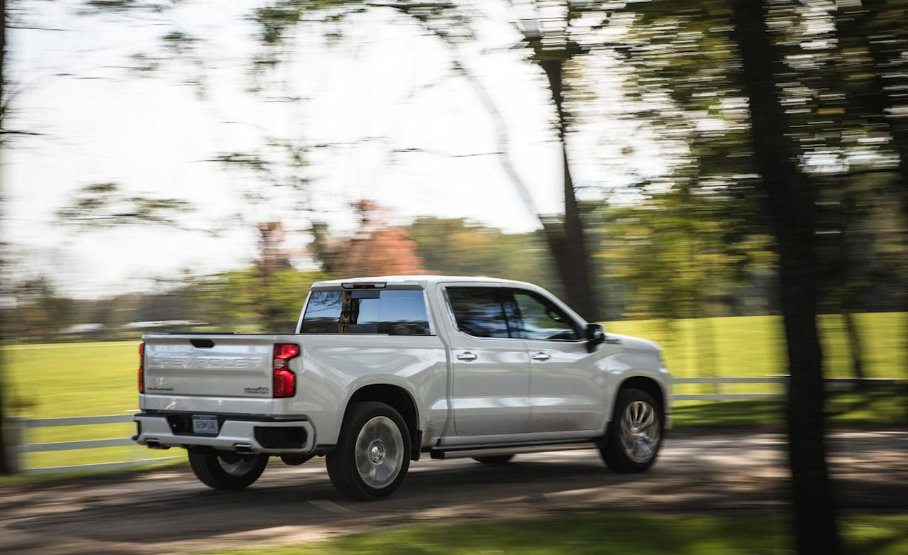 <p>Chevy's largest-displacement gas V-8 provides real muscle for its full-size pickup.</p>