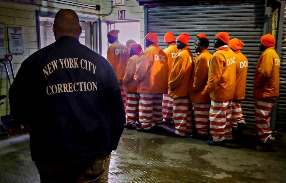Rikers Island Jail Crisis (Copyright 2021 The Associated Press. All rights reserved.)