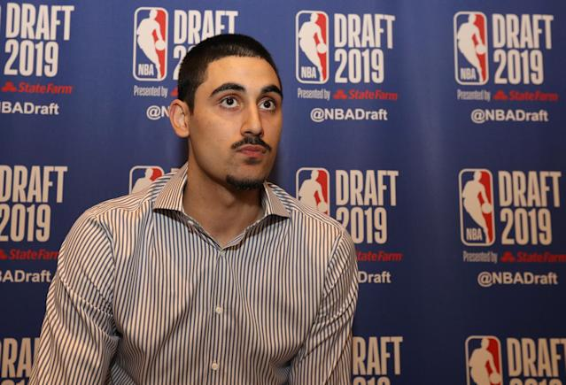 Georgian big man Goga Bitadze is expected to be a mid-first-round pick in Thursday's NBA draft. (Photo by Mike Lawrie/Getty Images)
