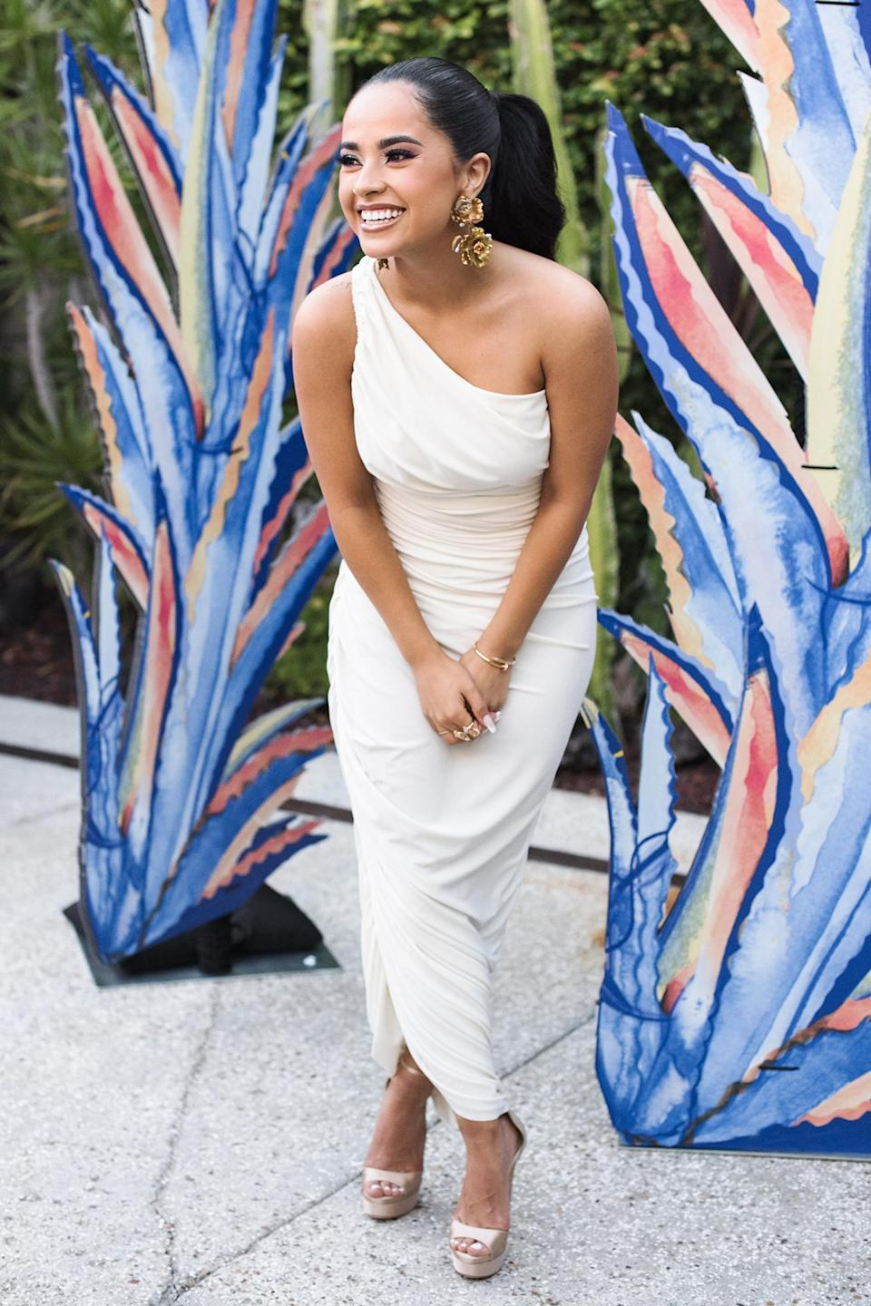 <p>Becky G holds a private launch event in L.A. for her beauty brand Treslúce Beauty, a brand that creates, celebrates and supports Latinx heritage and culture.</p>